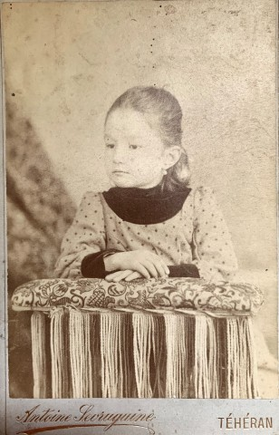 Antoin Sevruguin, A young girl, Late 19th Century, early 20th Century