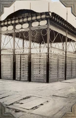 John Drinkwater, The Tomb of Hafez, with an iron transenna, Shiraz, 1934