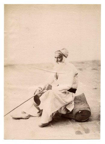 Antoin Sevruguin, A Dervish, Late 19th Century or early 20th Century