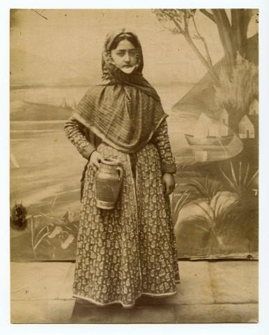 Antoin Sevruguin, An Armenian woman, Late 19th Century