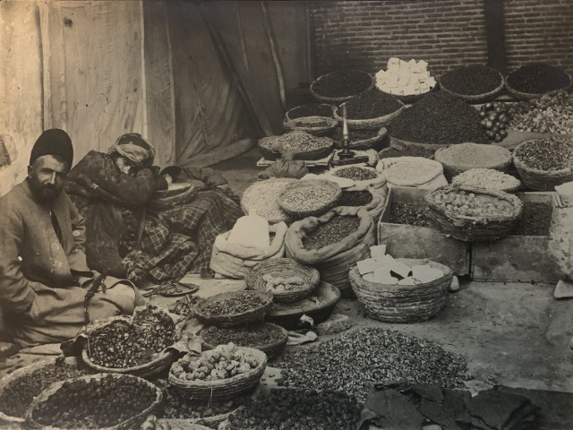 Antoin Sevruguin, Greengrocers, Late 19th Century
