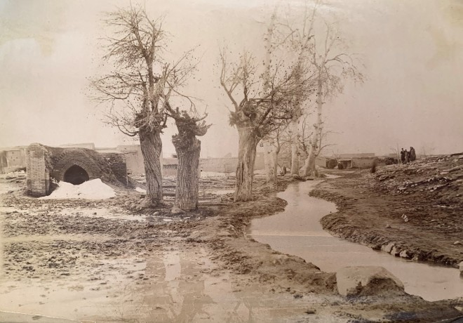Antoin Sevruguin, Route to Borujerd , Late 19th Century, Early 20th Century