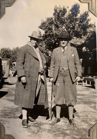 John Drinkwater, Joseph Hackin and Ernst Kühnel , 1934