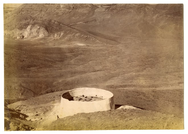 Antoin Sevruguin, The Zoroastrian Tower of Silence, Rey, Late 19th Century