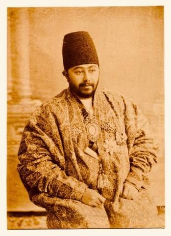 Antoin Sevruguin, Mirza Abdul Vahab Khan Nizam al-mulk, Late 19th Century