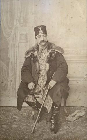 Abdallah Mirza Qajar, Naser al-Din Shah Qajar, Late 19th Century