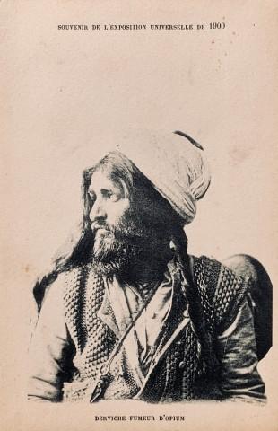 Antoin Sevruguin, An opium smoking dervish, 1900