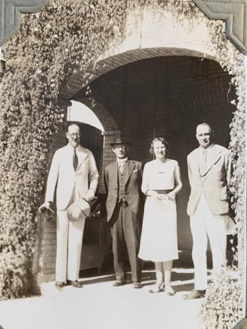 John Drinkwater, A group including Mr. E. H. Elkington, MD of the Anglo-Persian oil company, 1934