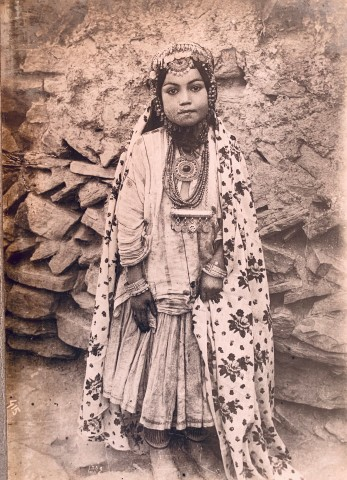 Antoin Sevruguin, A girl from the Shahsavan tribe of Western Iran, Late 19th Century or early 20th Century