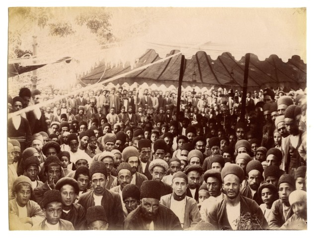 Antoin Sevruguin, Constitutionalists at the British Embassy in Tehran, Early 20th Century