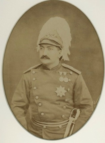 Antoin Sevruguin, Mass'oud Mirza Zell-e Soltan, Late 19th Century