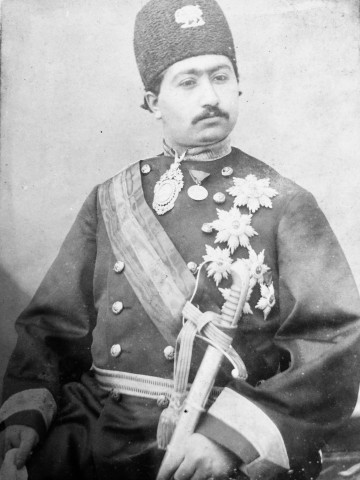 Not known, Crown Prince Mohammad Ali Shah Qajar, Late 19th or early 20th Century