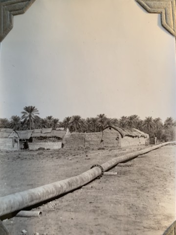 John Drinkwater, An Anglo-Persian Oil Co. pipeline to the Abadan refinery, 1934