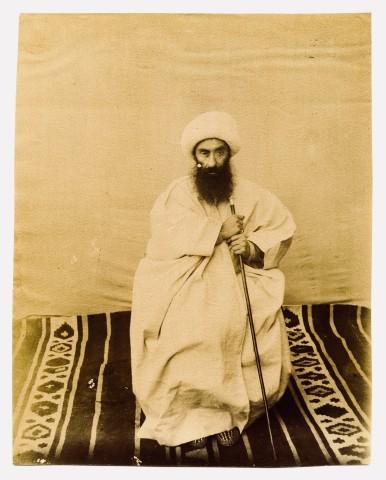 Antoin Sevruguin, A senior Mullah, Late 19th Century