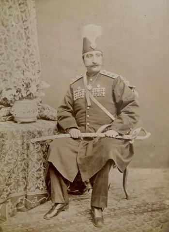 Dmitri Ivanovich Ermakov, Naser al-Din Shah Qajar, Late 19th Century