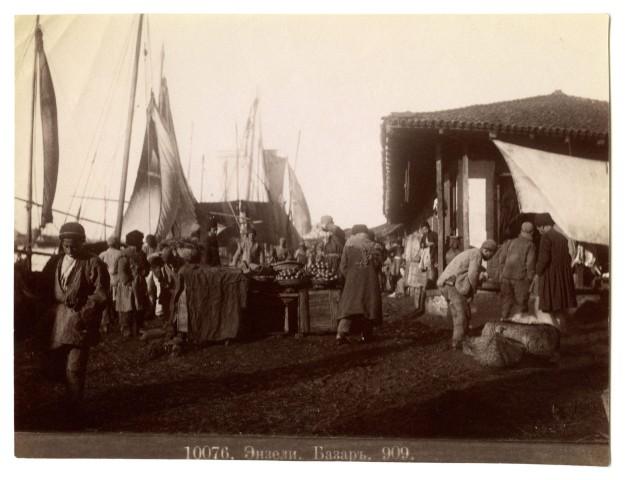 Dmitri Ivanovich Ermakov, The port of BenderEnzeli Bazaar, 1870s