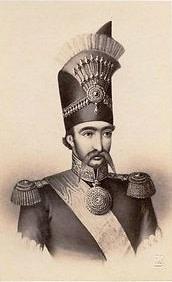 Charlet & Jacotin, Naser al-Din Shah Qajar, 1860s
