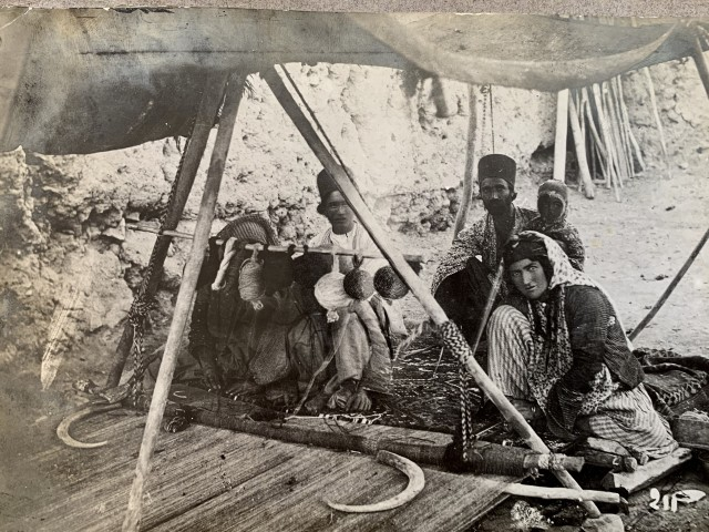 Antoin Sevruguin, Ropemakers, Late 19th Century or early 20th Century