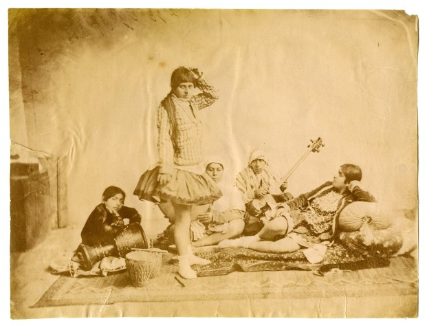 Antoin Sevruguin, Dancers and Musicians, Late 19th Century