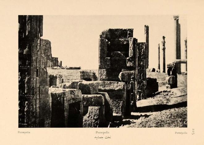 Antoin Sevruguin, Persepolis, 1926