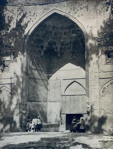 Antoin Sevruguin, Madrasa-i Madar-i Shah, Isfahan, Late 19th Century