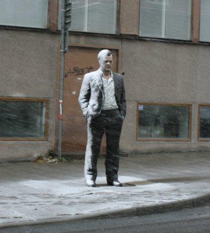 Standing Man, 2010