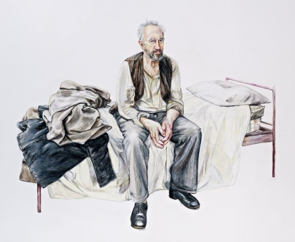 Man on a Bed, 2012