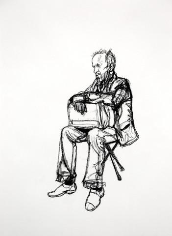 Seated Figure 2, 2015