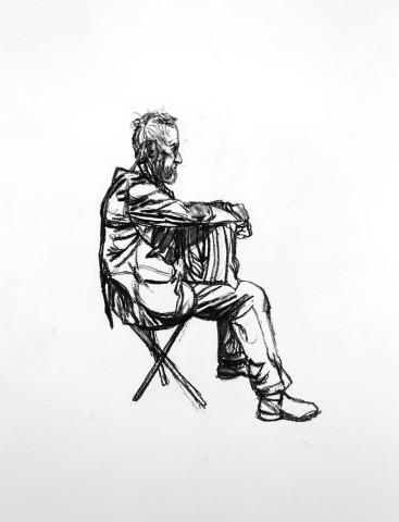 Seated Figure 3, 2015