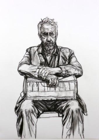 Seated Figure, 2016