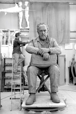 Seated Figure (in progress)