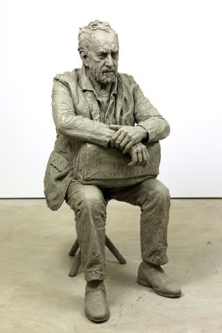 Seated Figure (monotone)