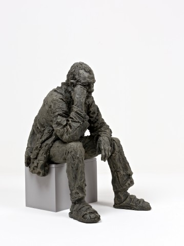 Seated Man Triptych