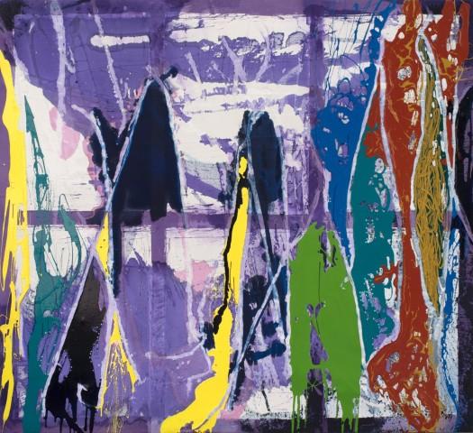 Dona Nelson, Black Points, 2015