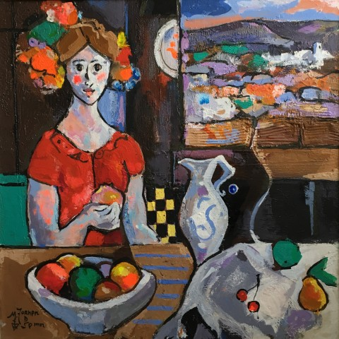 Miguel Torner De Semir, Woman with Fruit, 2016