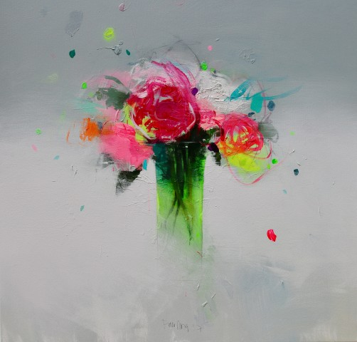 Fran Mora, Spring Flowers, 2017