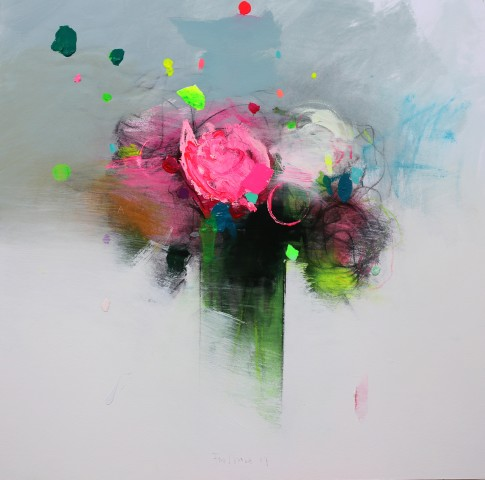 Fran Mora, Spring Flowers II, 2017