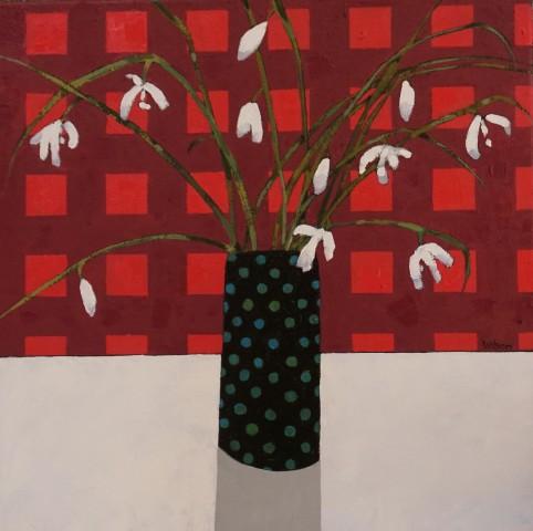 Gordon Wilson, Snow Drops & The Spotty Vase, 2019