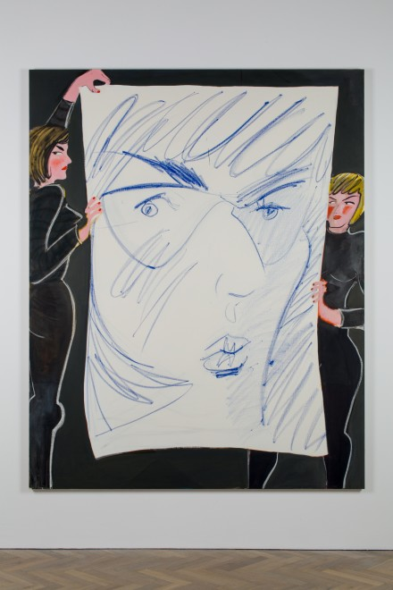 <p>Ella Kruglyanskaya, Puppeteers with a Big Face, 2015</p>
