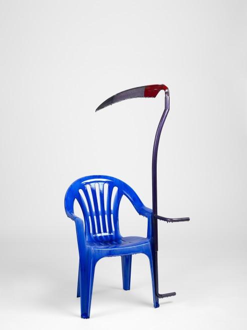 <p>Jean-Luc Moulène,<em>La Faucheuse</em>, 2015</p>