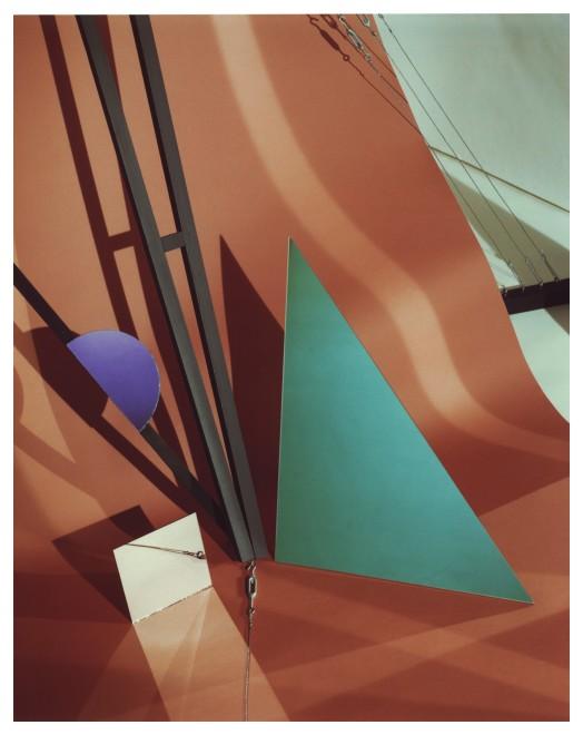 <p>Barbara Kasten, Construct XIII, 1982</p>