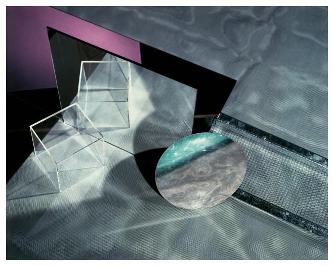 <p>Barbara Kasten, Construct III-D, 1980</p>