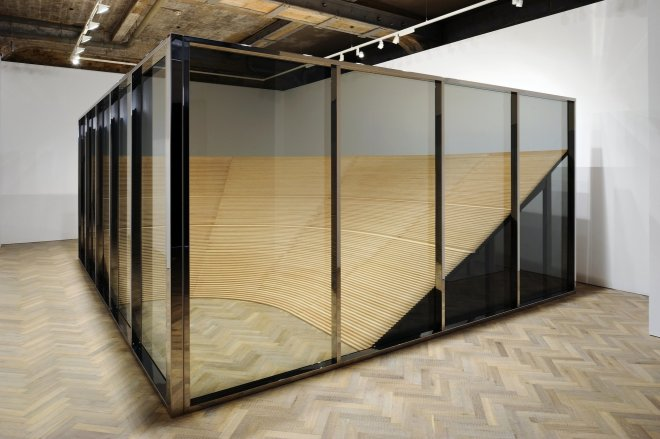 <p>Installation view, Thomas Dane Gallery.</p>