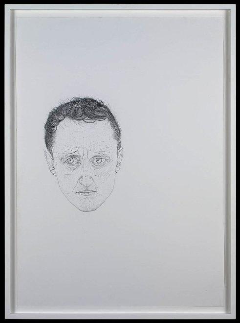 "<p><span lang=""EN-US"">Self-portrait #1</span><span lang=""EN-US"">, 2008</span></p><p><span lang=""EN-US"">pencil on paper</span></p>"