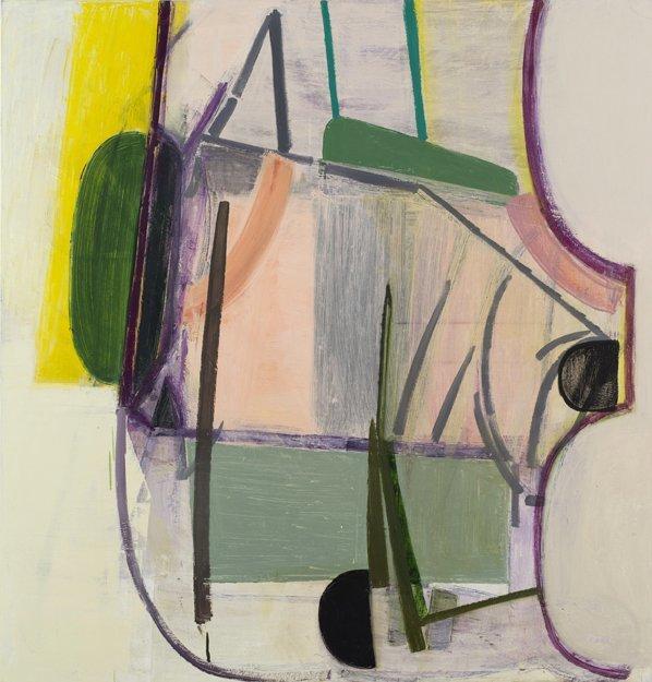 <p>Amy Sillman</p><p><em>Untitled</em>, 2012</p><p>oil on canvas</p>