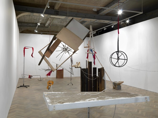<p><b>Installation view, Thomas Dane Gallery, London</b></p>