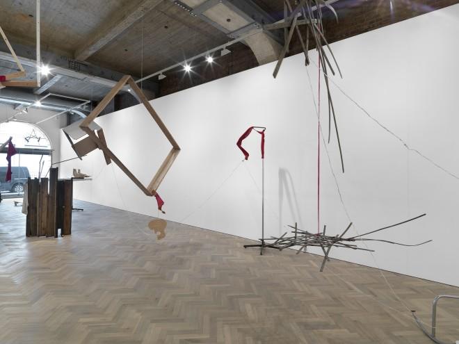 <p>Installation view, Thomas Dane Gallery, London</p>