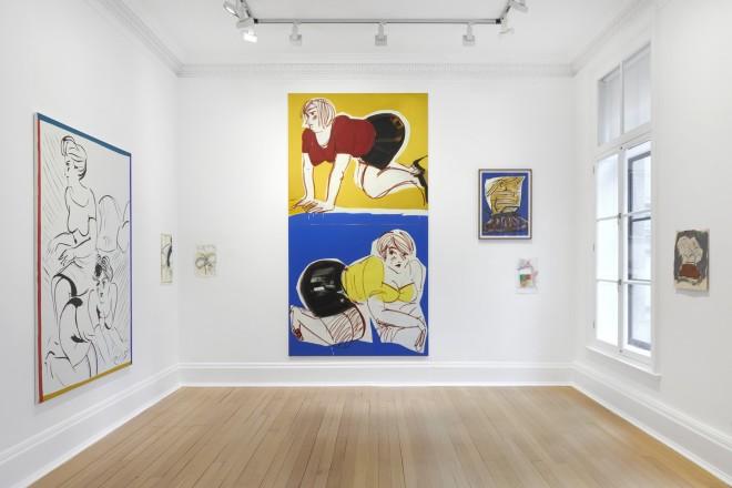 <p>Installation view,Thomas Dane Gallery</p><p></p>