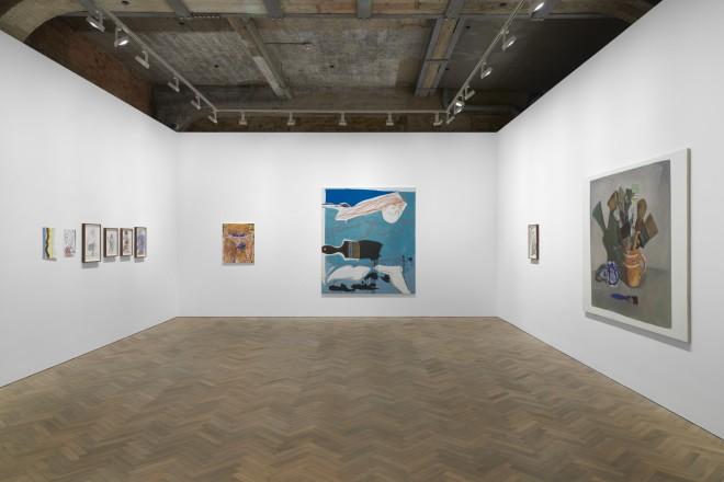 <p>Installation view,Thomas Dane Gallery</p>