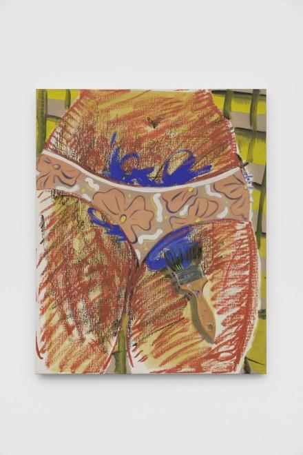 """<div class=""""artist"""">Ella Kruglyanskaya,<em>Blue Flames</em>, 2019</div>"""